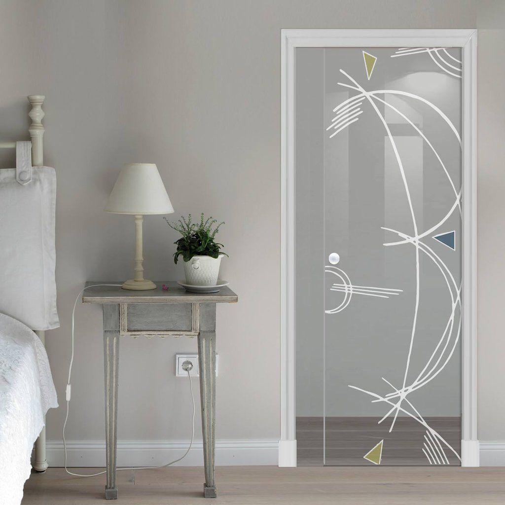 Eclisse 10mm D B Murano Design On Clear Or Satin Glass Pocket Door Glassdoor Pocketdoors Sl Glass Doors Interior White Panel Doors Glass Pocket Doors