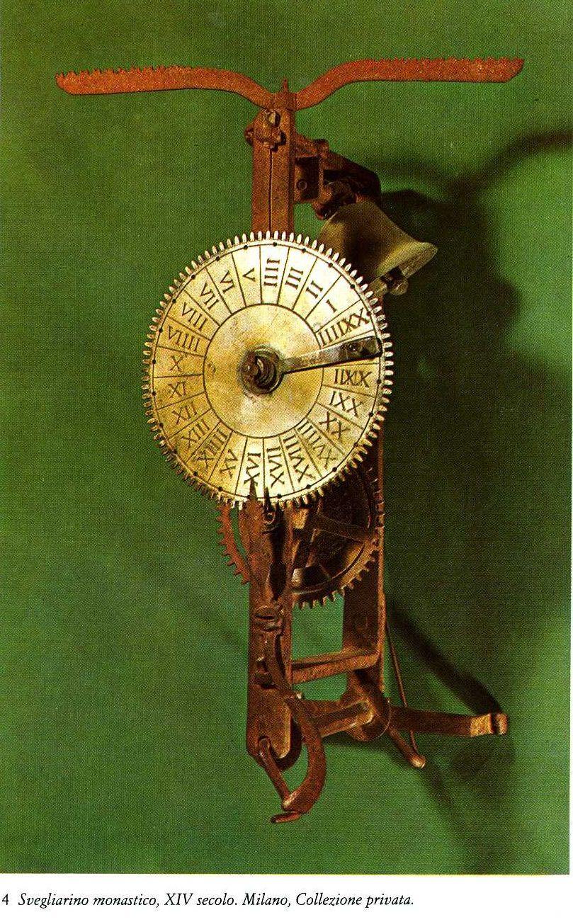 Small  monastery alarm clock. 14th century.