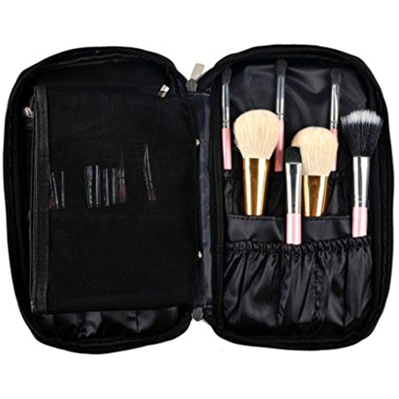 Hatop Pro Makeup Brush Bag Cosmetic Tool Brush Organizer