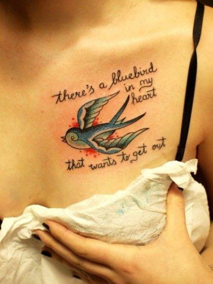 Literary tattoo, Bukowski. I want something very similar