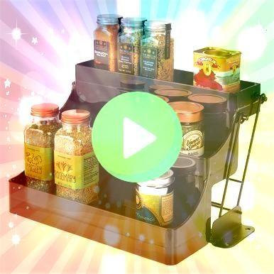 Pull Down Küchenschrank Spice Rack Organizer Bronze 9 x 122 x 8  mDesign Pull Down Küchenschrank Spice Rack Organizer Bronze 9 x 122 x 8  mDesign Pull Down K&uu...