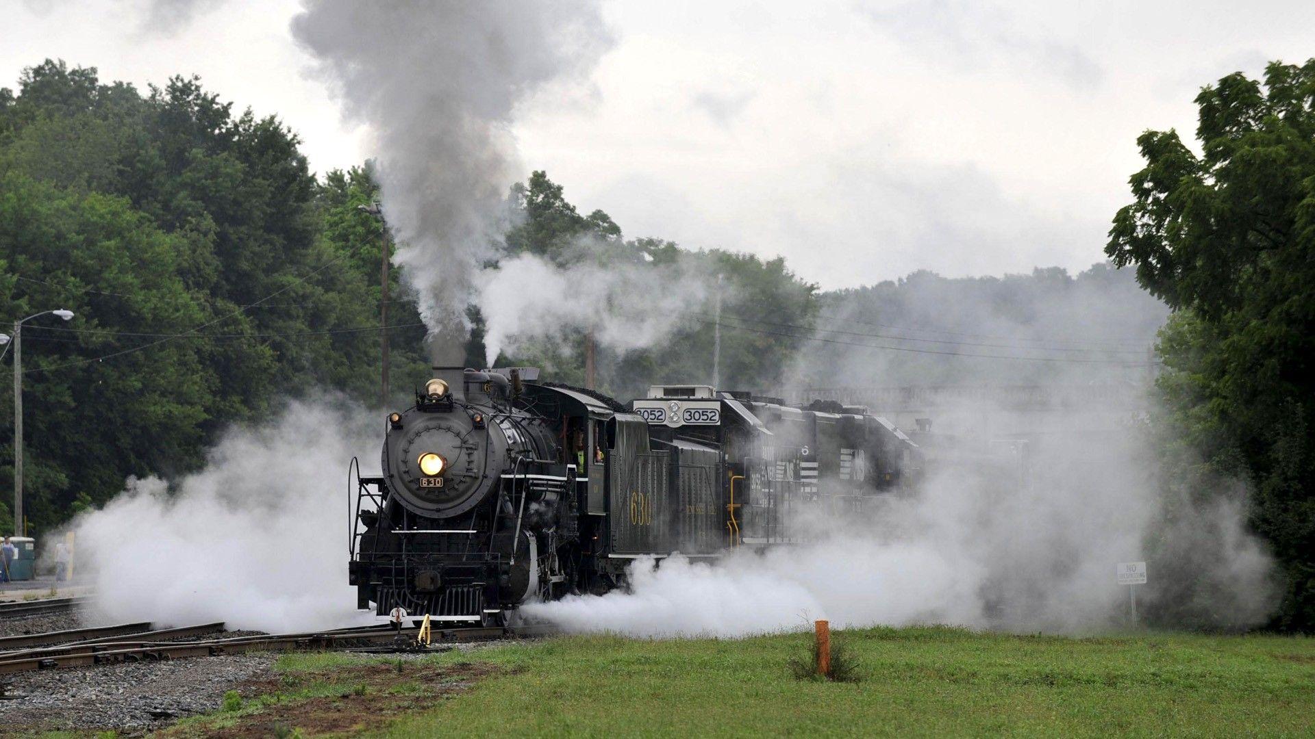 Image detail for -Trains Steam Train Locomotives Widescreen Fresh HD Wallpaper Free ... | Trains ...