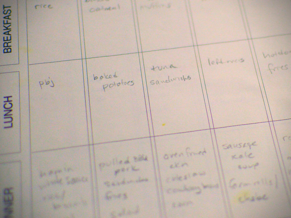 Mega meal planning for the mega family How to plan