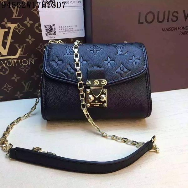 Louis Vuitton LV bags & shoulder bag & tote from replica shop, Size Leather,  Color Black