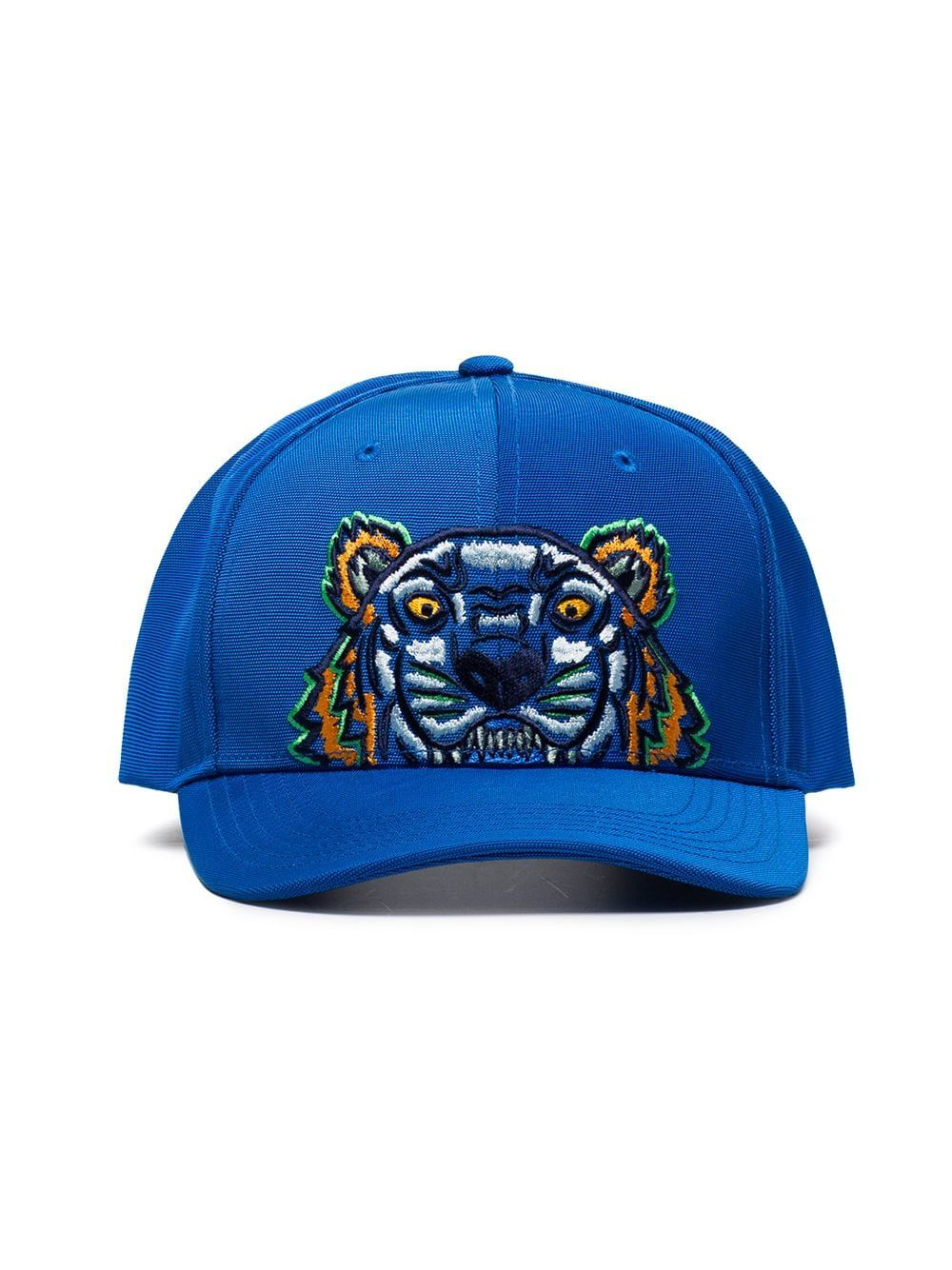 f9a2686c6 Kenzo Tiger embroidered logo cap - Blue | Products in 2019 | Kenzo ...