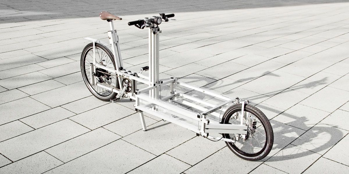 XYZ CARGO BIKE by N55 & TillWolfer in 2020 | Cargo bike