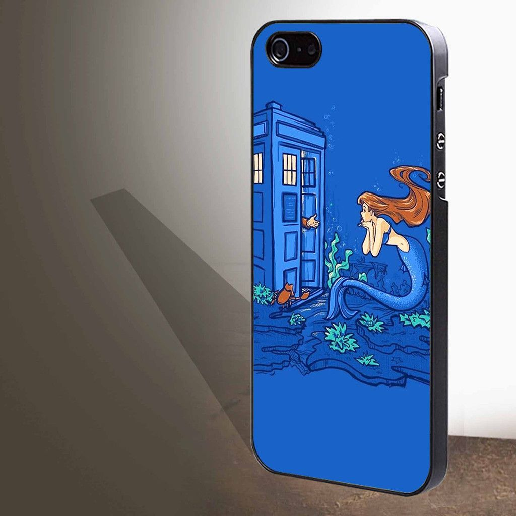 """tardis the title mermaid doctor for iphone 4/4s/5/5s/5c/6/6 , Samsung S3/S4/S5/S6, iPad 2/3/4/Air/Mini, iPod 4/5, Samsung Note 3/4 Case """"005"""""""