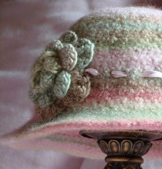 Crochet PATTERN Strawberry Fields Hat in PDF by BellaMcBride ...