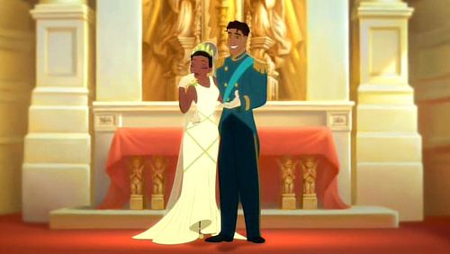 princess and the frog wedding scene | In love with love | Pinterest ...