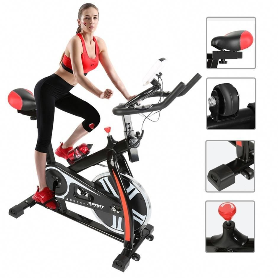 2018 New Pedal Exercise Bicycle Mute Household Magnetic Stationary Exercise Bike Indoor Fitness Cycling Equipment Bi In 2020 Bicycle Workout Biking Workout Indoor Bike
