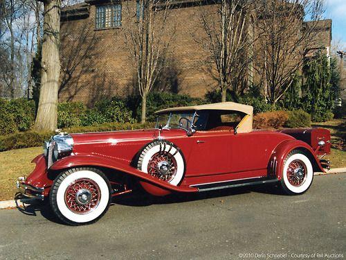 1931 Chrysler CG Imperial Convertible Roadster (Chrysler