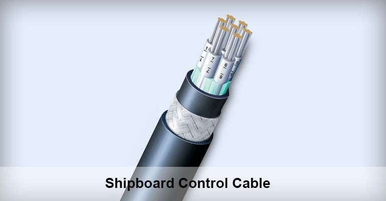 Shipboard Control Cable Supplier Grand Ocean Marine Cable Galvanized Steel Control