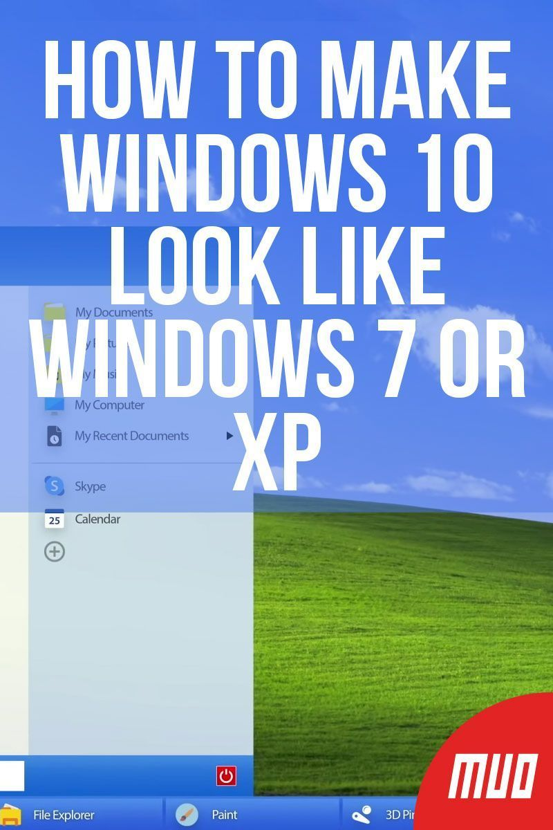 How To Make Windows 10 Look Like Windows 7 Or Xp Windows10 How To Make Windows 10 Look Like Windows 7 Funny Quotes Wallpaper Microsoft Word Lessons Windows 10