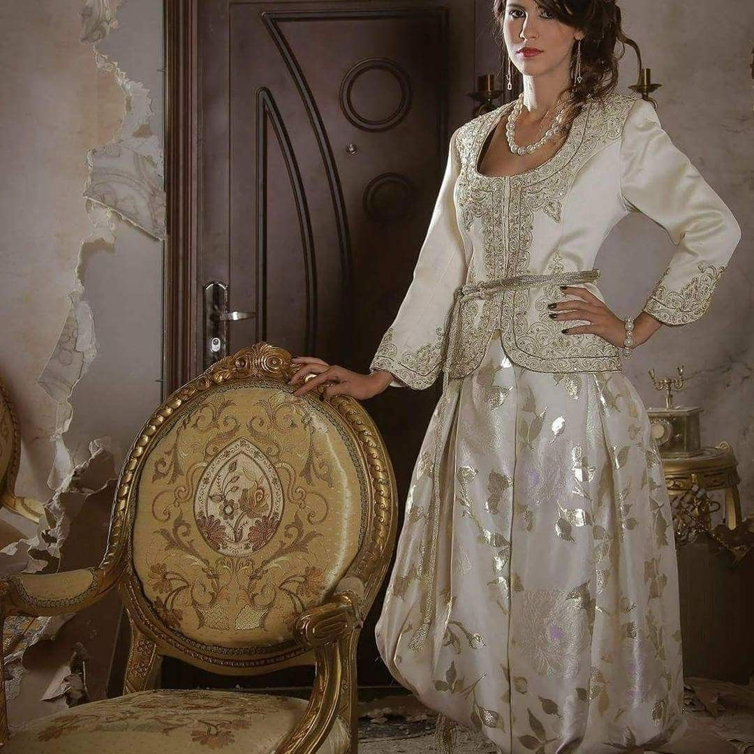 Styliste Karim Akrouf   Algerian Traditional Dresses   Pinterest ...