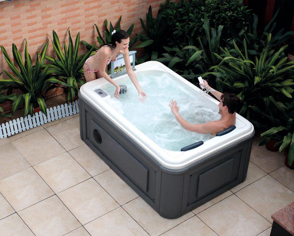 Hs-spa291 mini spa ao ar livre. / Mini ao ar livre banheira de ...