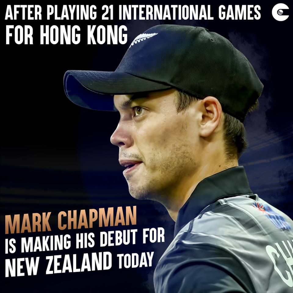 Mark Chapman Another Addition To The List Of Dual International Cricketers Cricket Cricket Match International Games