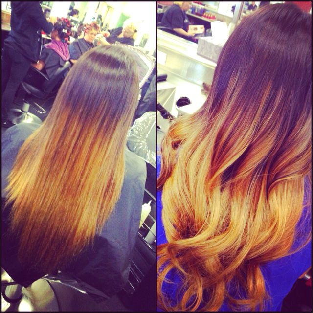Ombré . Done by Me .