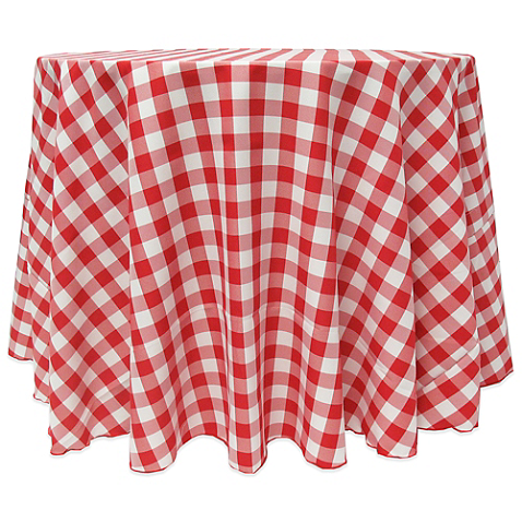 Gingham Round Tablecloth Bed Bath Beyond Gingham Tablecloth Ultimate Textile Checkered Tablecloth