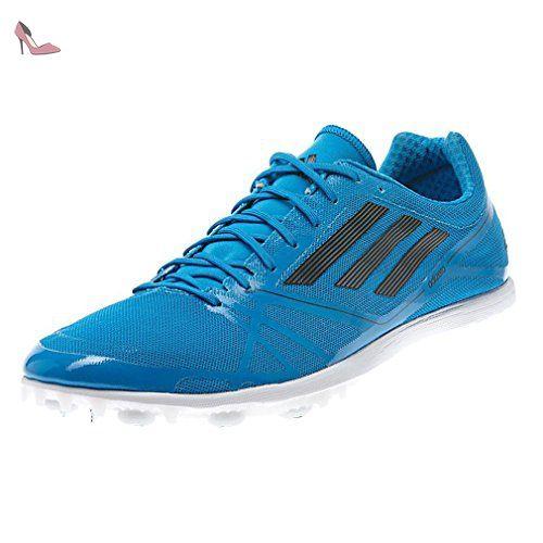 Nemeziz Messi 17.4 TF, Chaussures de Football Homme, Multicolore (FTWR White/Solar Orange/Clear Grey), 40 2/3 EUadidas