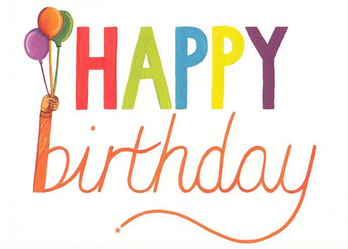 Happy Birthday Greetings Card Greetings Cards Pinterest