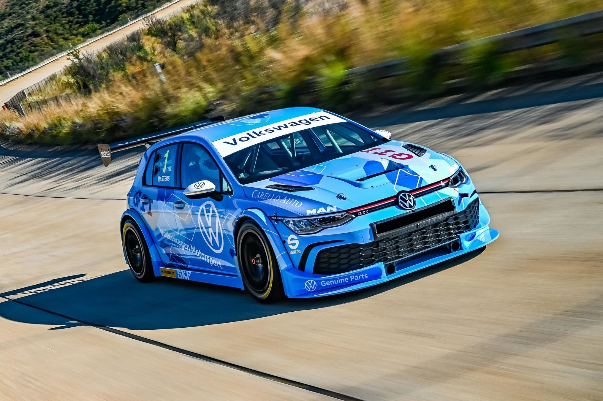 Volkswagen Motorsport South Africa Reveal New Gtc Car Based On Golf 8 Gti Motorsport Volkswagen Gti