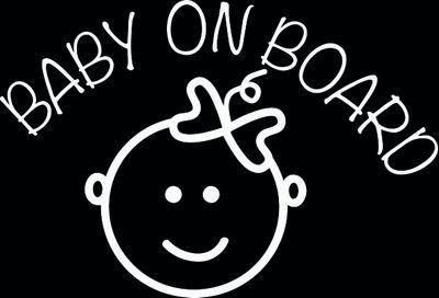 Baby on board, meisje