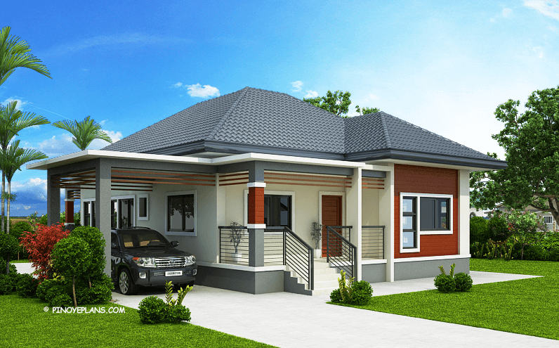 Miranda Modern House Elevated 3 Bedroom With 2 Bathroom Plan Engineering Discoveries In 2020 Beautiful House Plans Simple House Design Bungalow House Design
