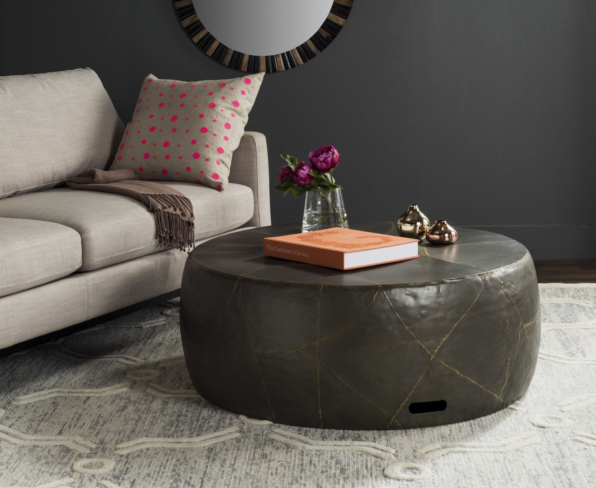 Safavieh vernice coffee table