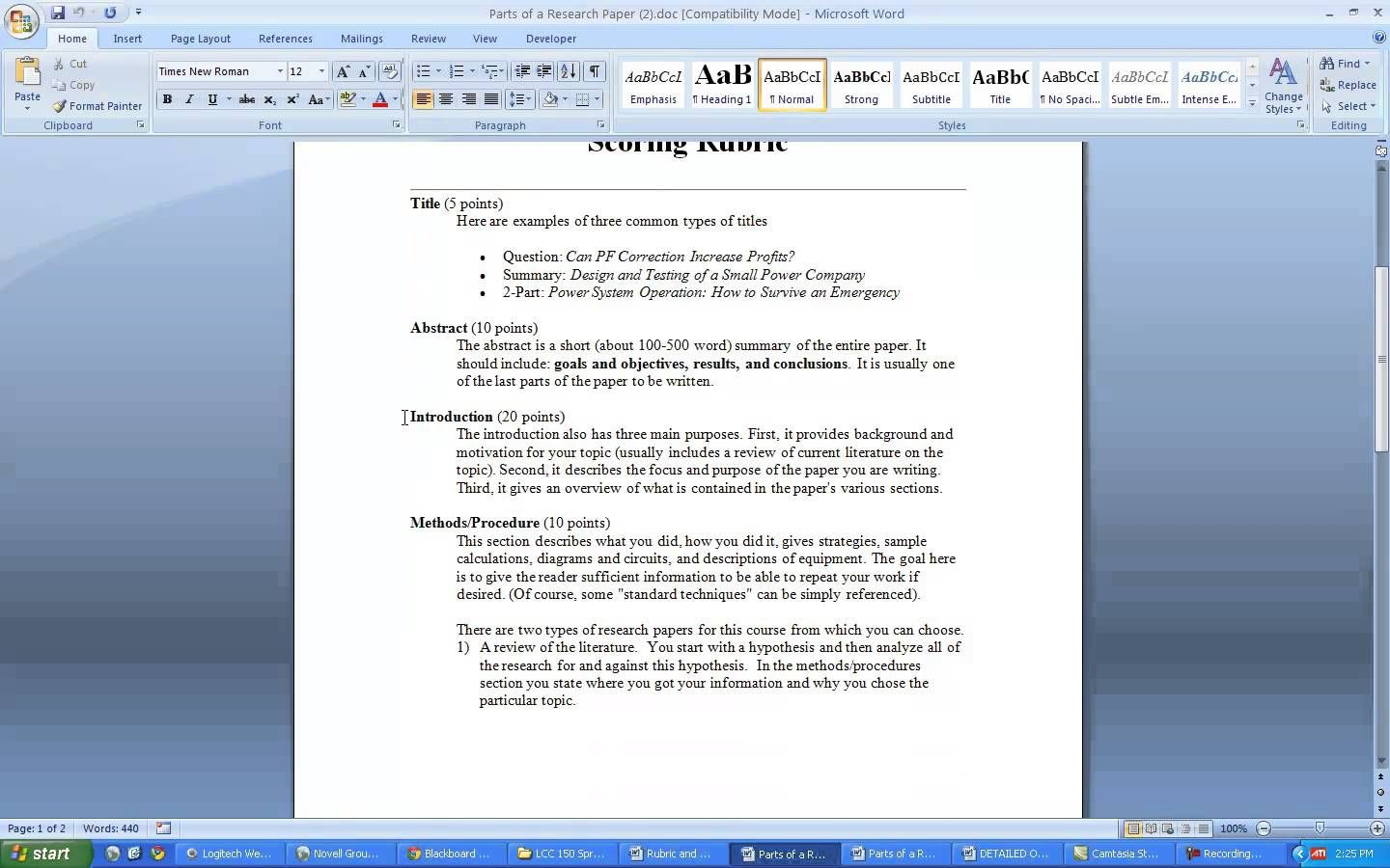 How To Write A Research Paper And A Literature Review Paper How To