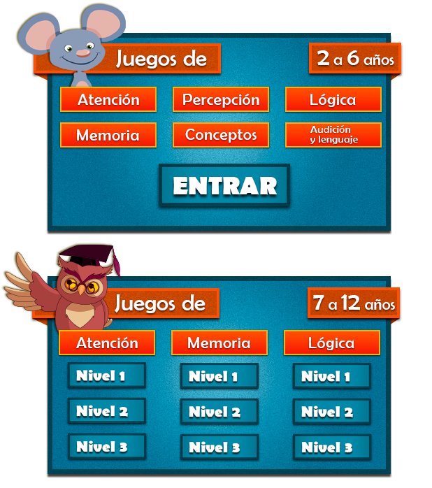 Juegos Mentales Y De Inteligencia Para Niños De Primaria Gratuitos Y Online Juegos Interactivos Para Niños Estimulación Temprana Programacion Para Niños