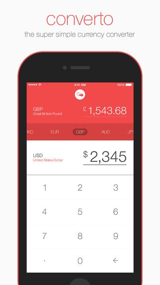 Converto Currency Converter By The App Developers Currency