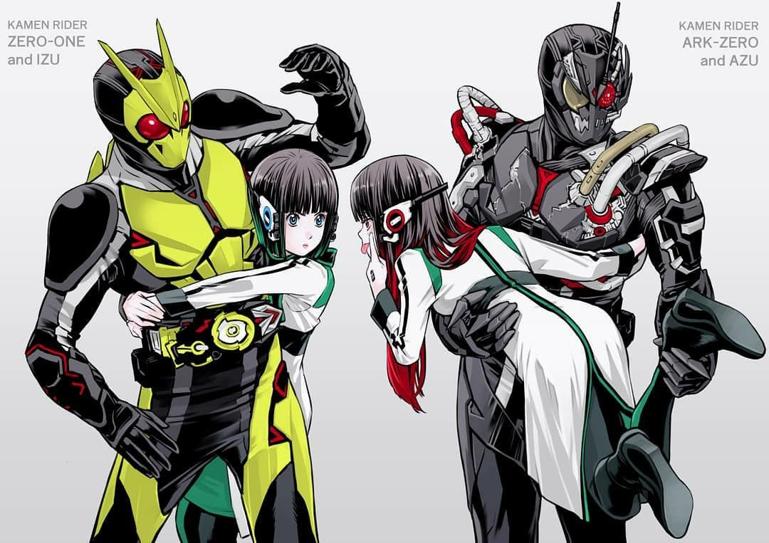 Pin by Zero One on izu_chang in 2020 Kamen rider series