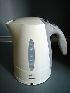 Electric Kettle Hot Water LED Lighting 760w Anti Scale Limescale off