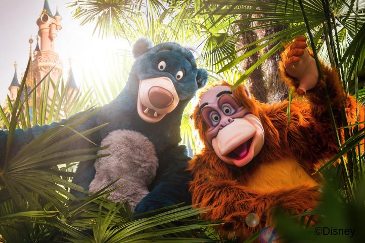 König der Löwen- und Dschungel- Festival im Disneyland Paris