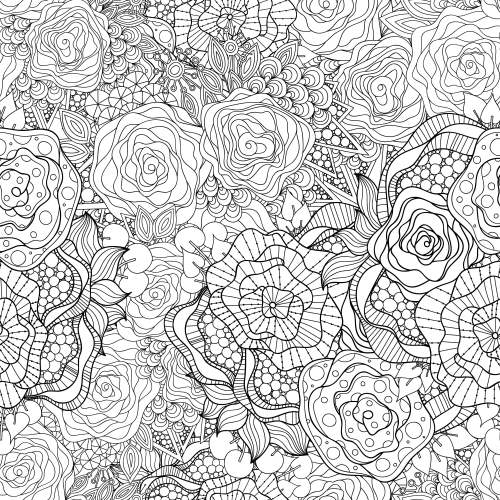 Flowers Advanced Coloring Pages 12 Kidspressmagazine Com Mandala Coloring Pages Coloring Pages Butterfly Coloring Page