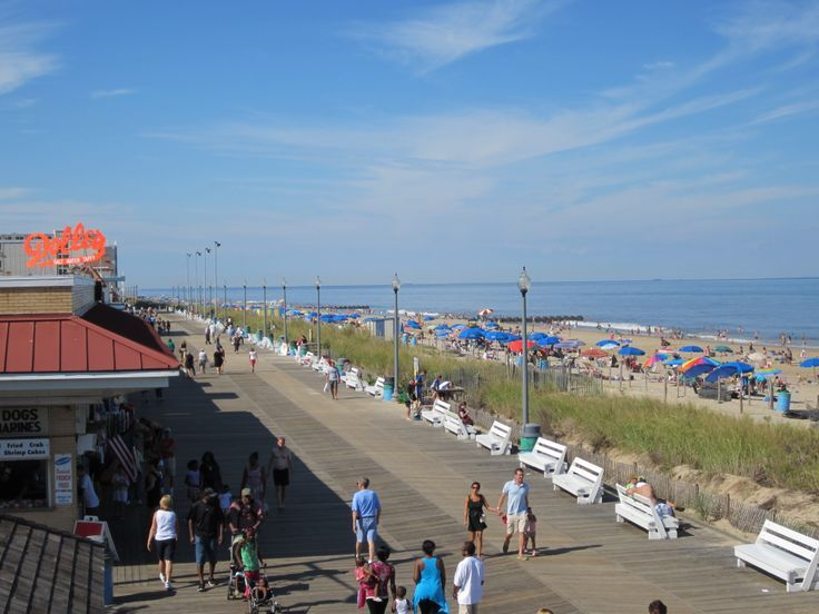 Take A Stroll On The Rehoboth Beach Boardwalk Enjoy Mini Golf Ocean Views Ping And Tons Of Good Eats