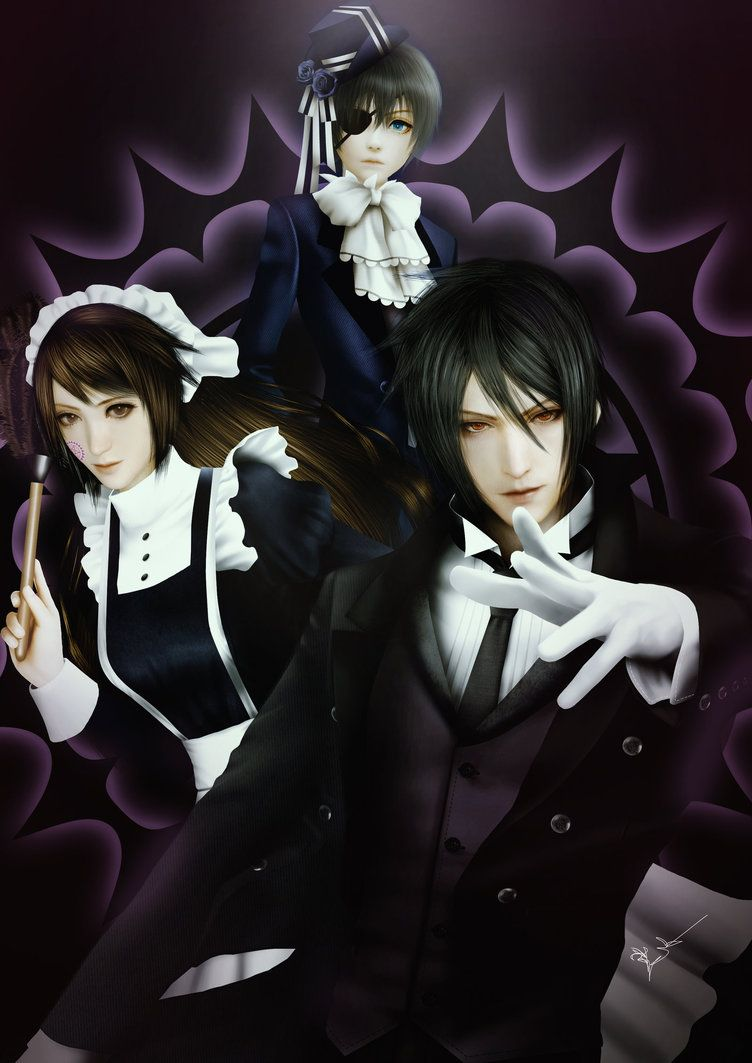 Zara and Black butler by Thanomluk by thanomluk on DeviantArt