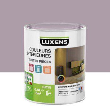 Peinture Violet Aubergine 5 Luxens Couleurs Intérieures