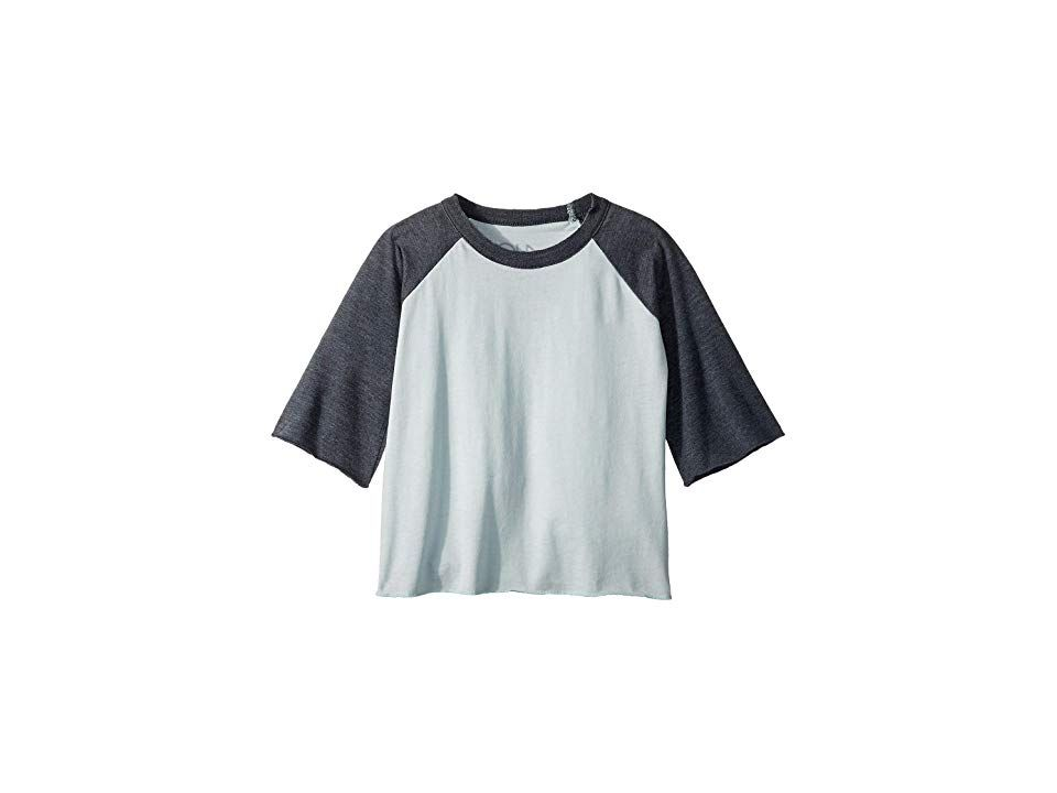 e012edc99 Chaser Kids Extra Soft Jersey Flounce Sleeve Baseball Raglan Tee  (Toddler Little Kids) (Waterfall Shark) Girl s T Shirt. Take an afternoon  trip to the park ...