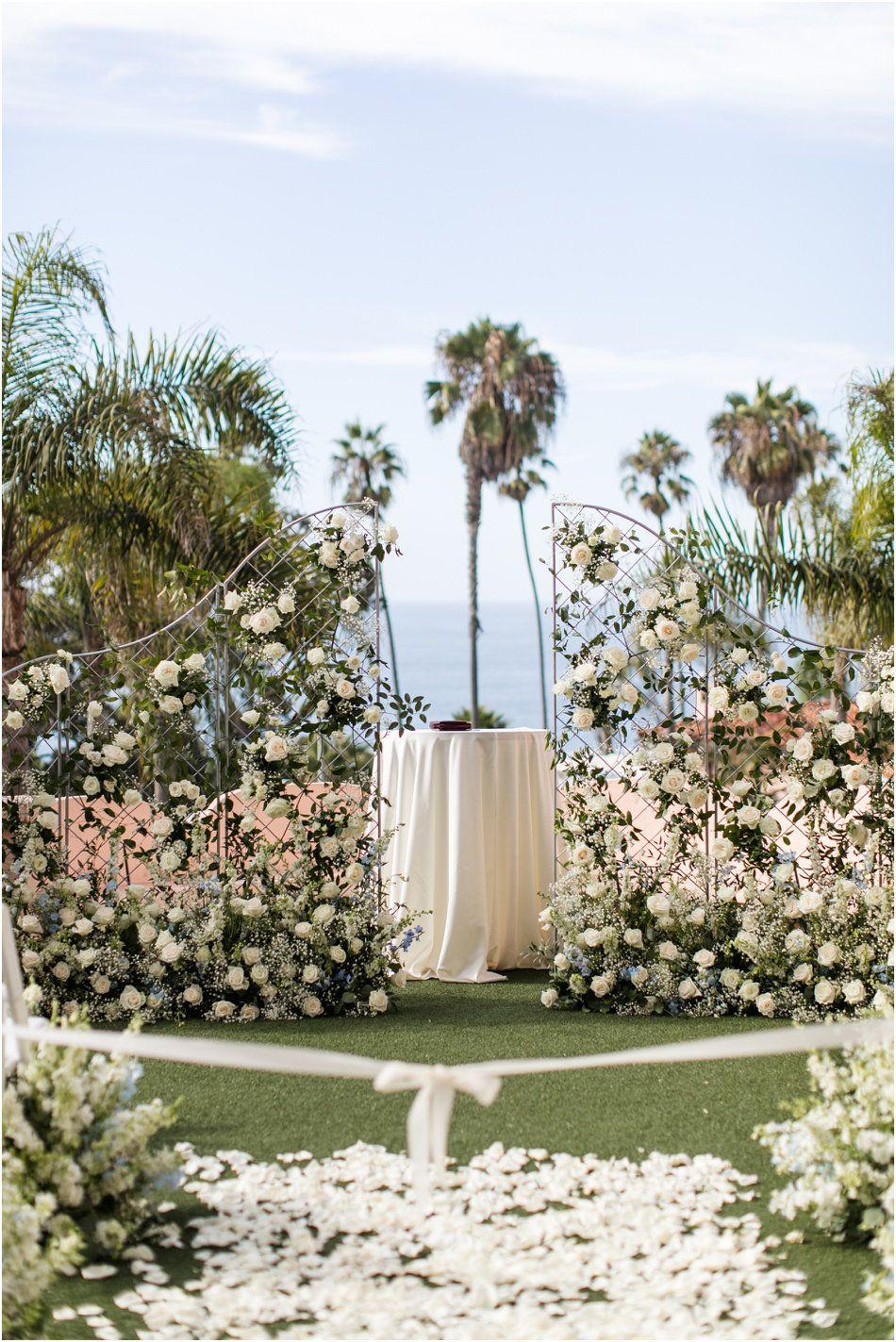 La Jolla California Wedding La Valencia Hotel Bret
