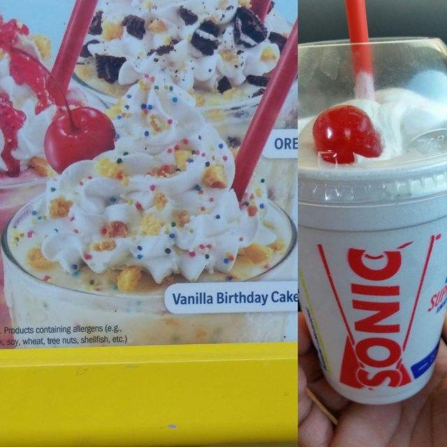25 Pretty Photo Of Sonic Birthday Cake Shake Vanilla
