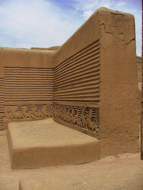 Chan Chan Ruins. Trujillo, Peru. http://www.southamericaperutours.com/peru/8-days-great-peru-northern-kindong.html