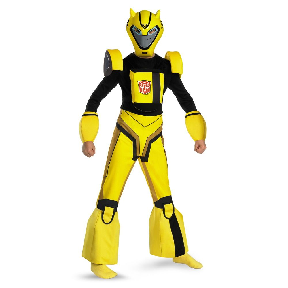 Transformers Bumble Bee Deluxe Official Child Costume | Unisex ...
