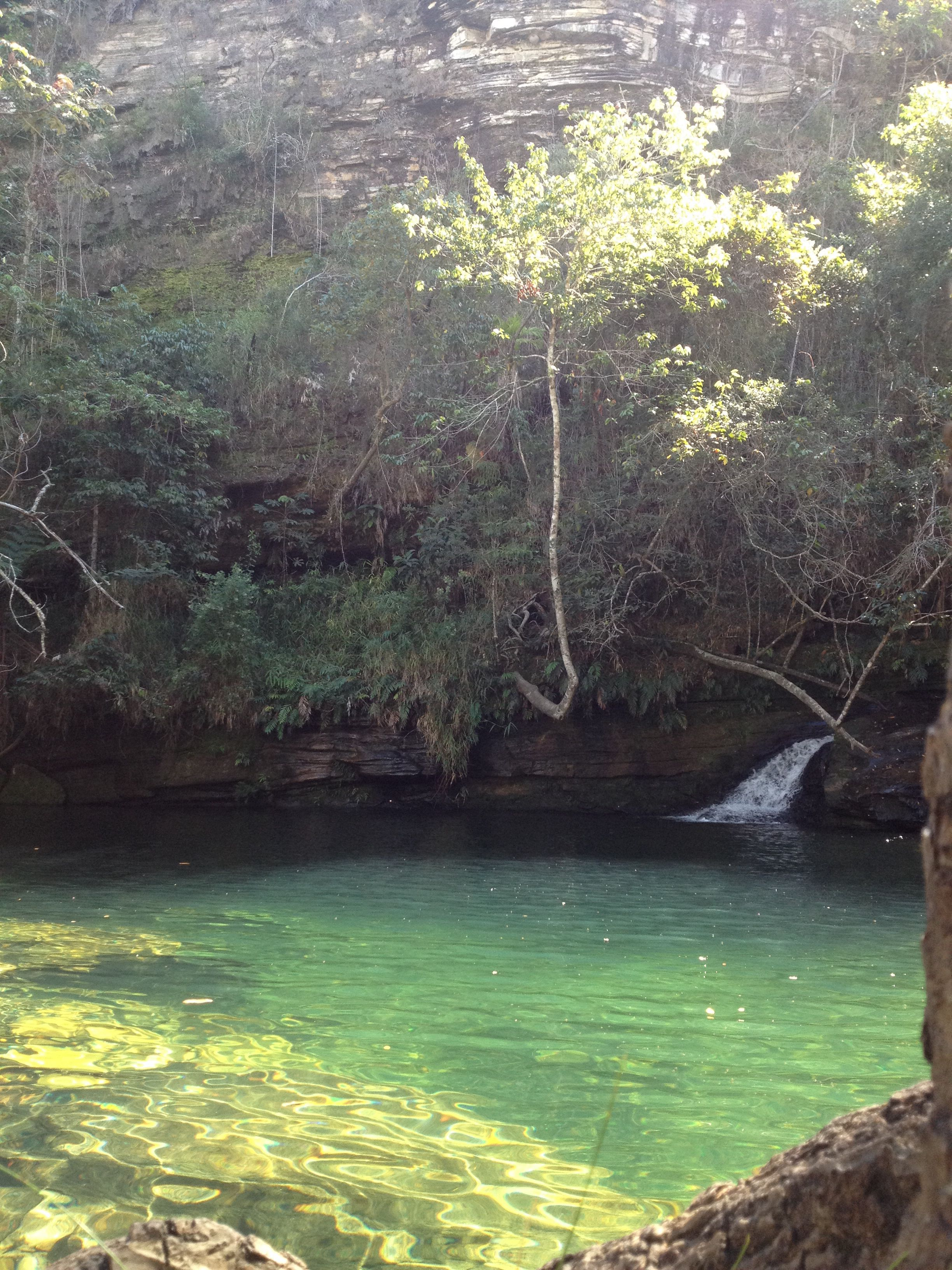 Cachoeira esmeralda