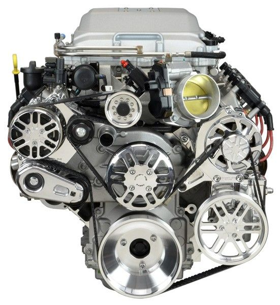 Chevy LS Victory Series Kit for Supercharger, Alternator, A