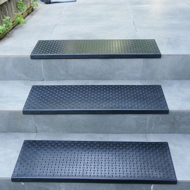 Diamond Plate Rubber Stair Mats