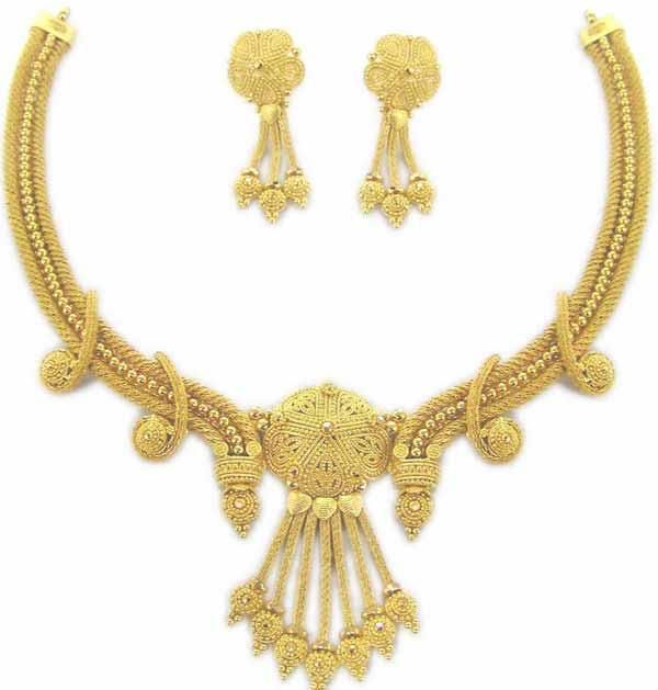 gold jewellery sets with price earrings gold