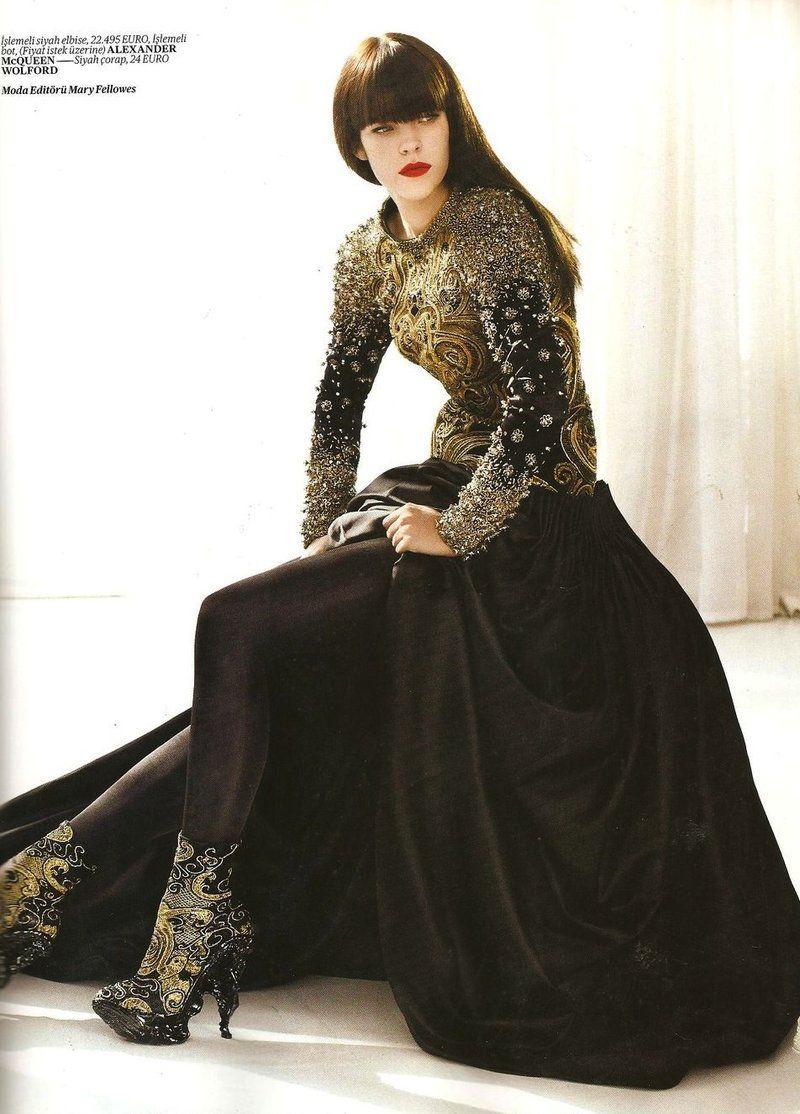 Kadınsı haller vogue turkey fashionholic pinterest mcqueen
