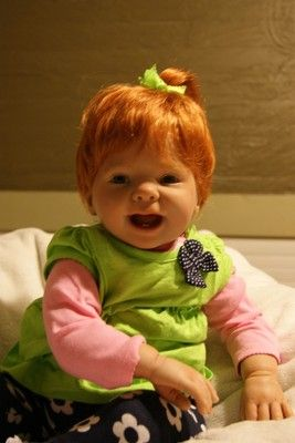 9month old Lucy reborn by Rowe2GoOriginals from the Ladybug mold by Donna RuBert: for sale now on ebay