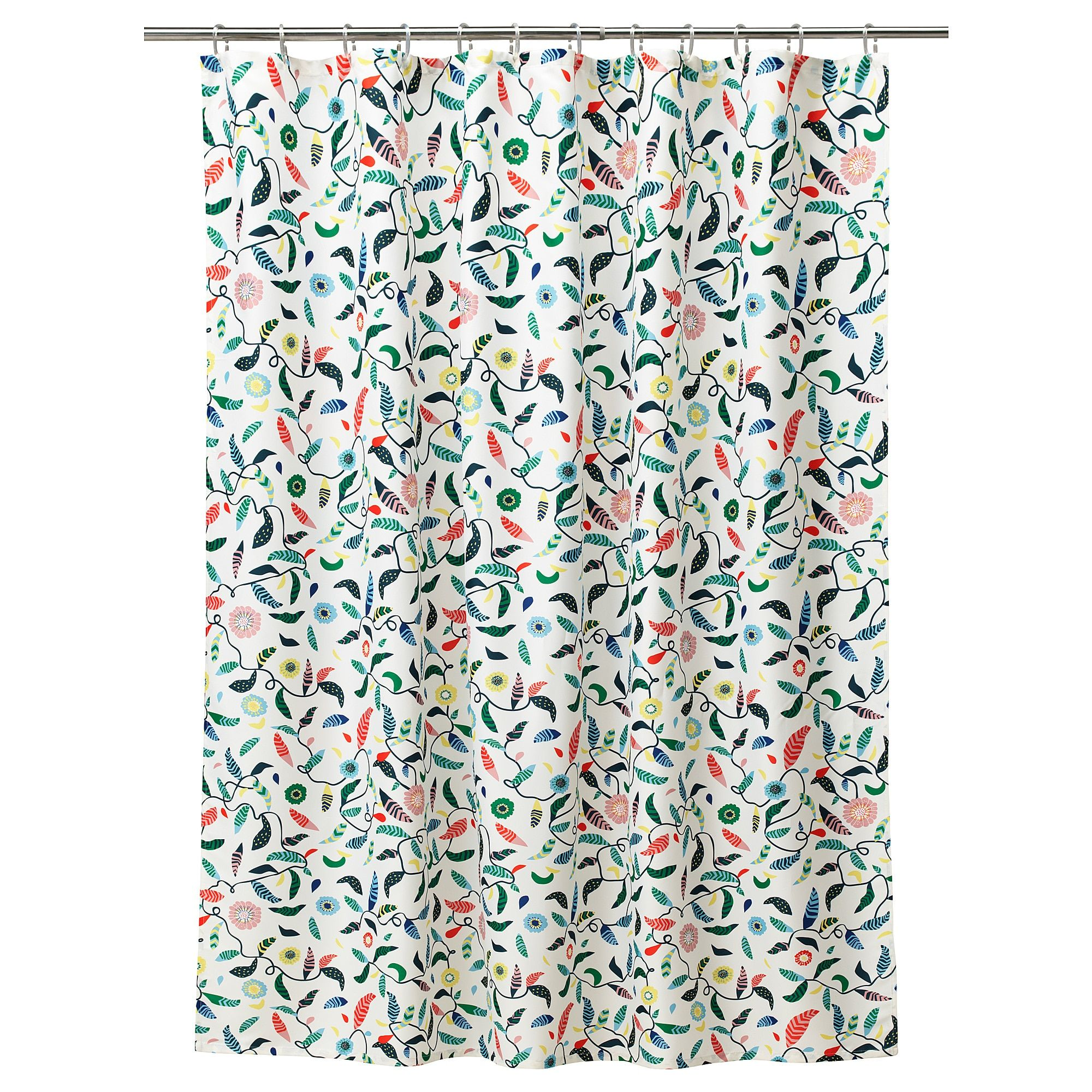 Sandbredan Shower Curtain Multicolor Colorful Shower Curtain